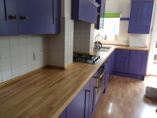 Hand painted kitchen Kimbolton