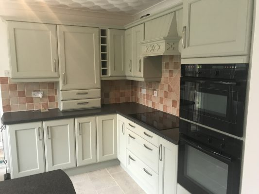 Kitchen cabinet painter Preston Lancashire