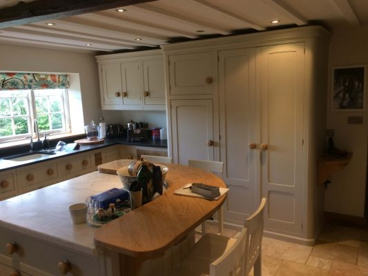 Kitchen cabinet painter mark wilkinson essendon hertfordshire