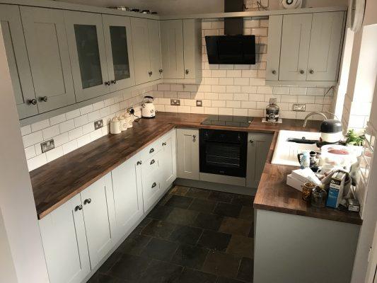 Kitchen cabinet painter Darlington County Durham