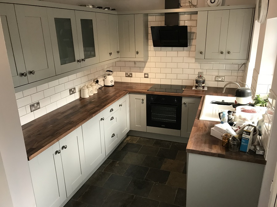 Kitchen cabinet painter Darlington County Durham