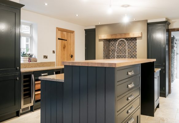 Hand painted kitchen Lancashire