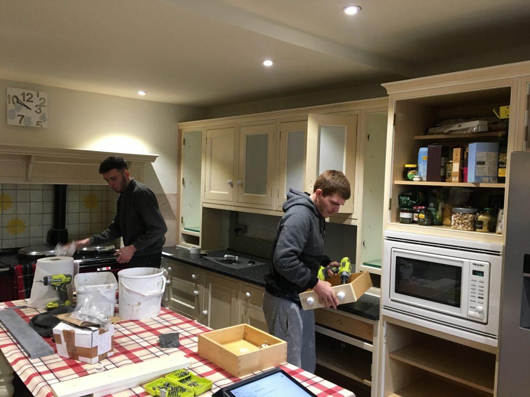 Kitchen cabinet painter Salisbury Wiltshire