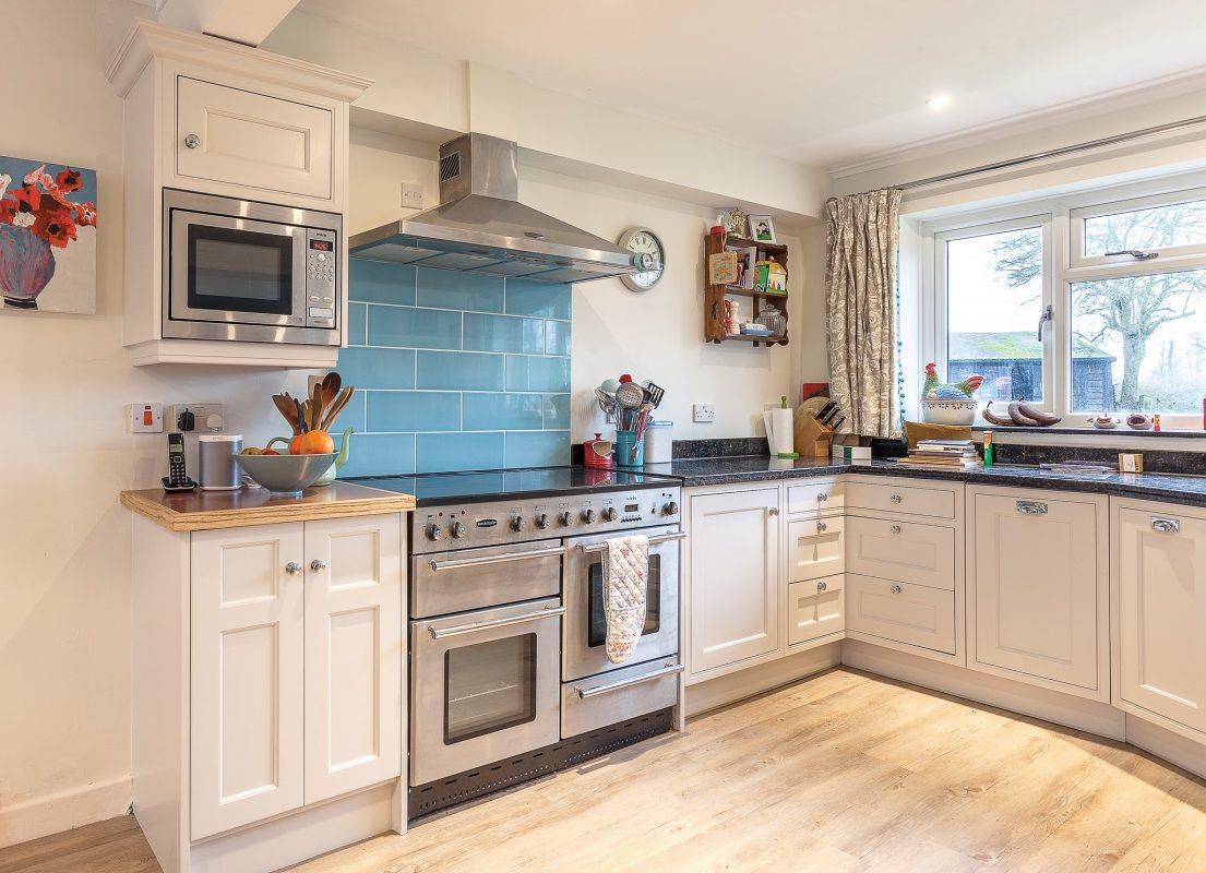handpainted kitchens Dorset
