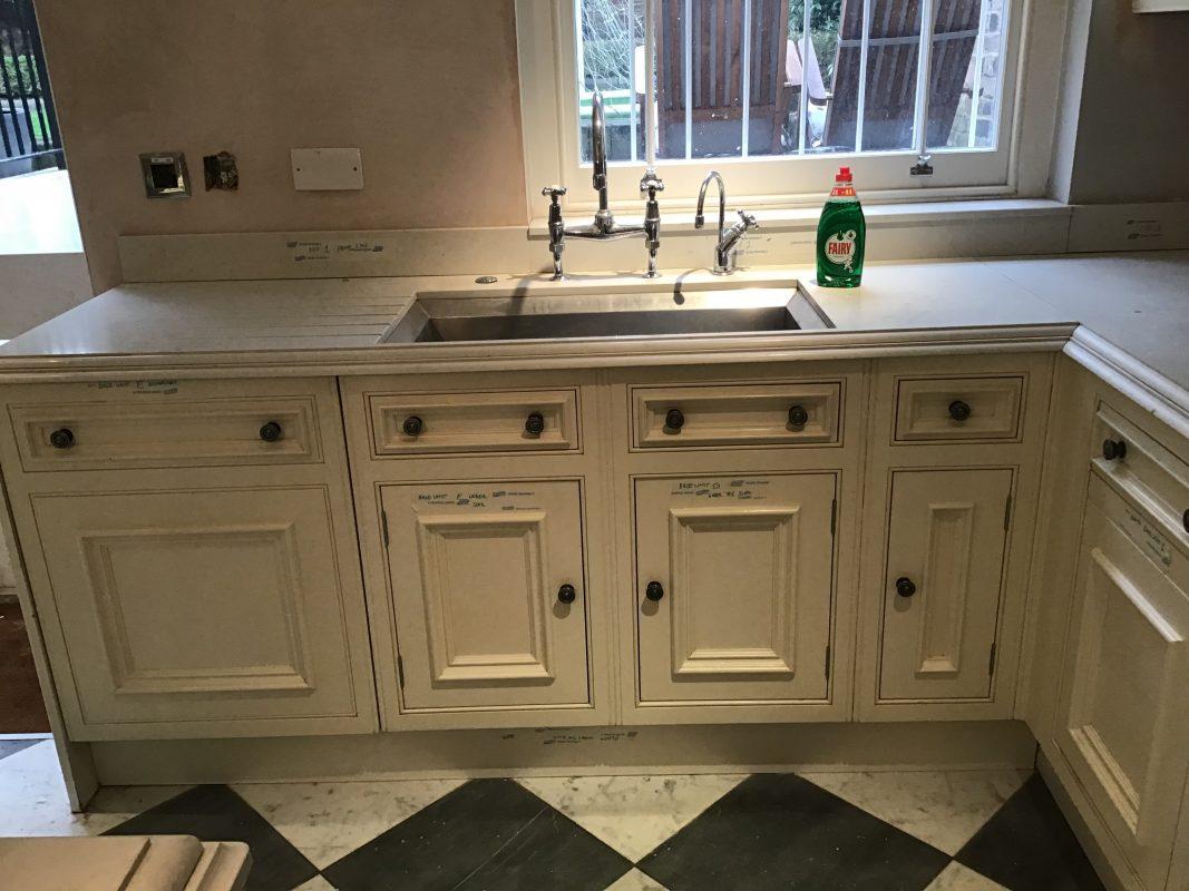 Kitchen cabinet painter Holland Park