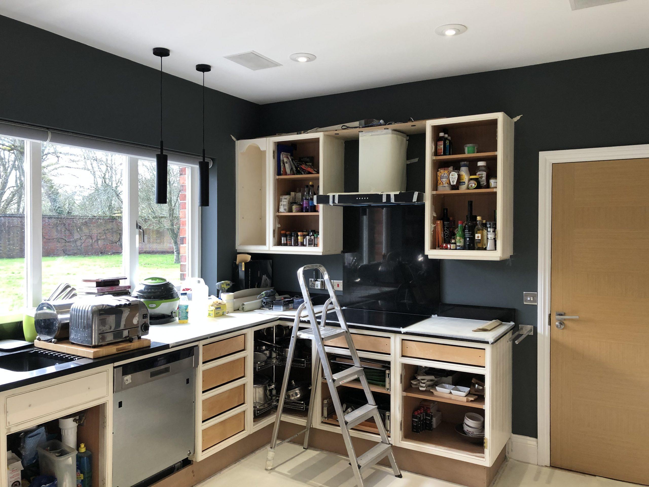 prep work on a kitchen Newbury Berkshire