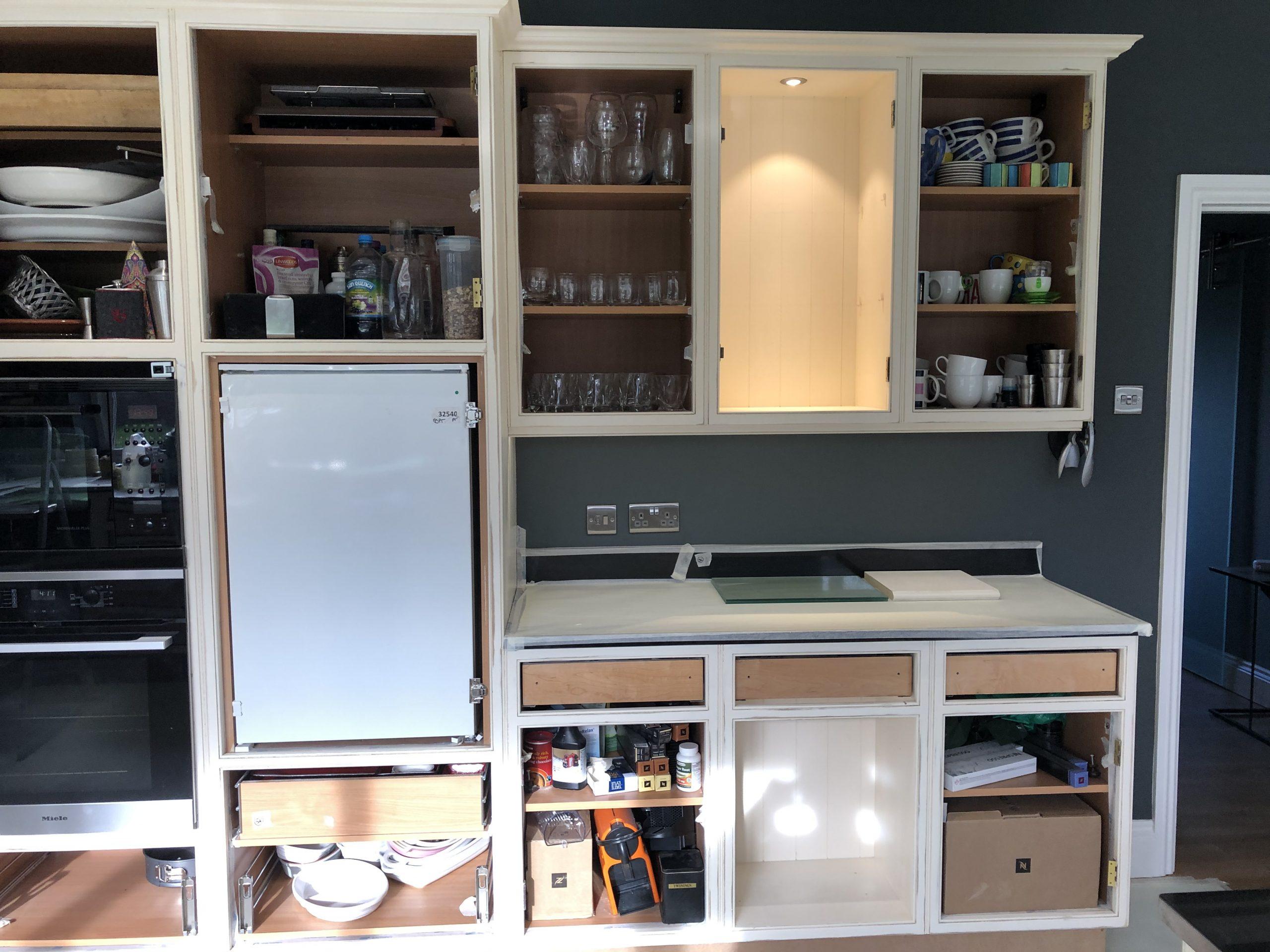 Kitchen painting Newbury Berkshire