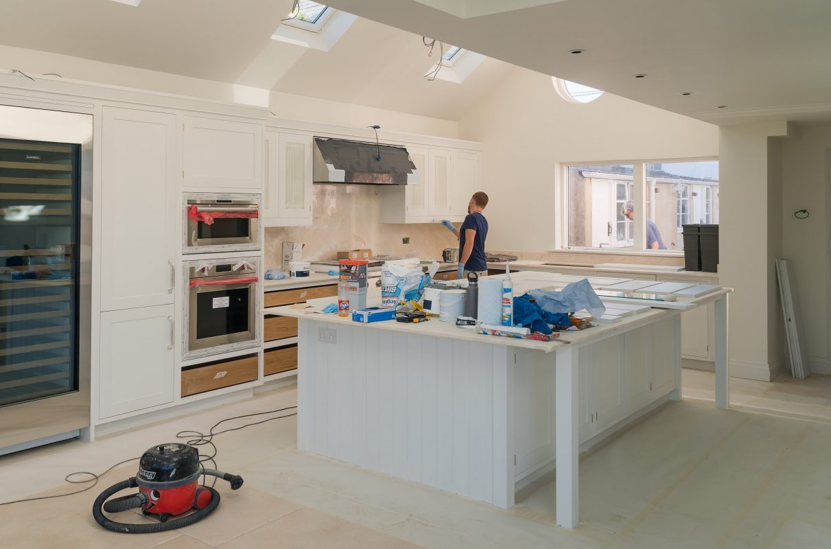 Kitchen cabinet painters Cowes Isle of Wight